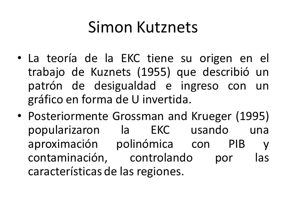 Simon Kutznets