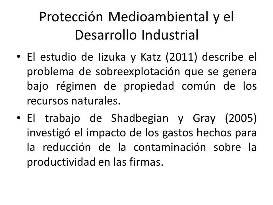Protección Medioambiental y el Desarrollo Industrial