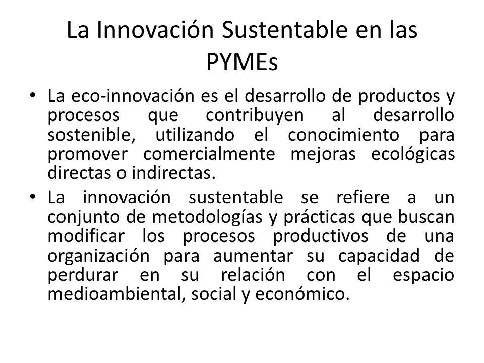 La Innovación Sustentable en las PYMEs