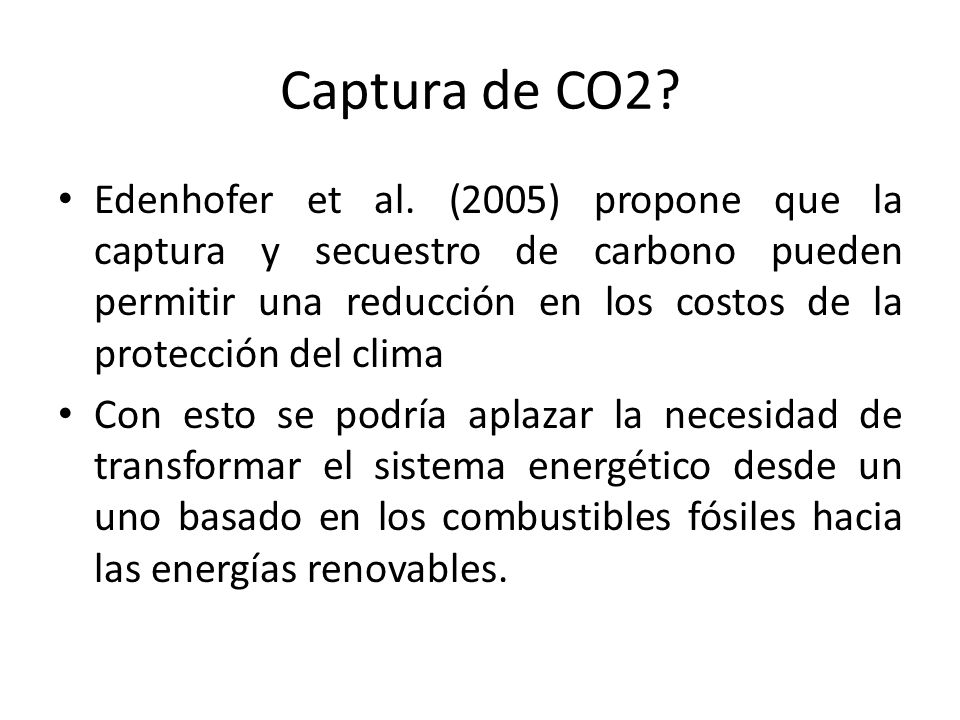 Captura de CO2