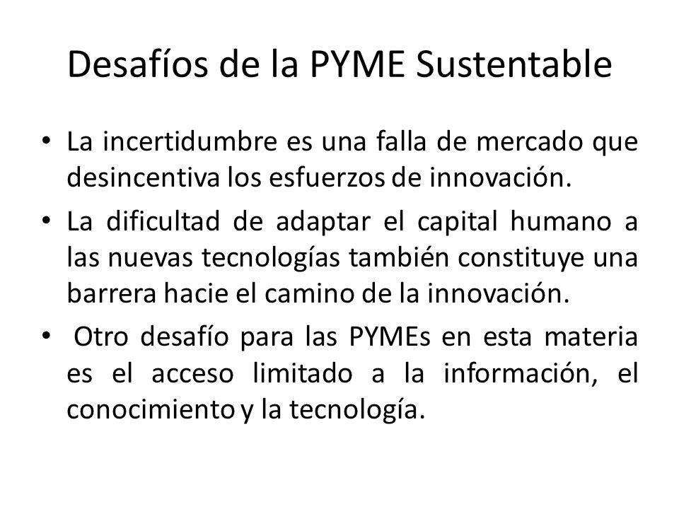 Desafíos de la PYME Sustentable
