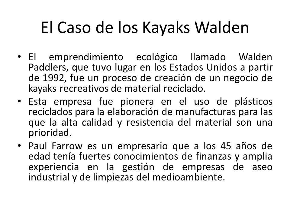 El Caso de los Kayaks Walden
