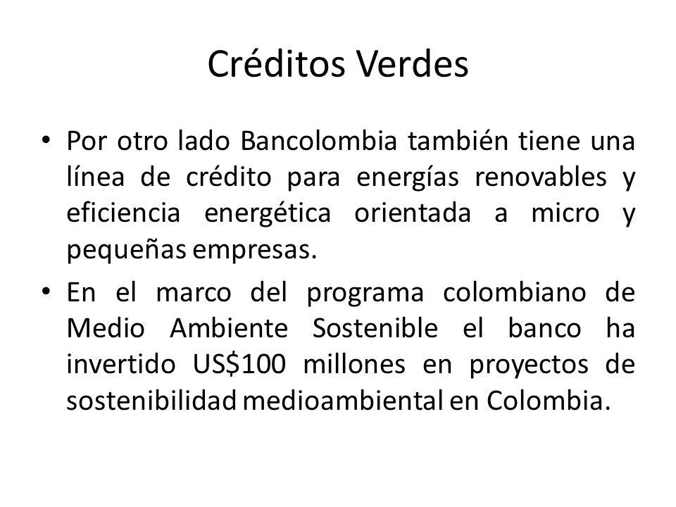 Créditos Verdes
