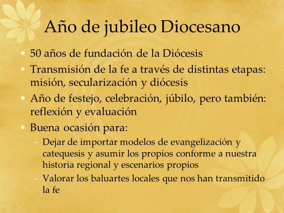 Año de jubileo Diocesano