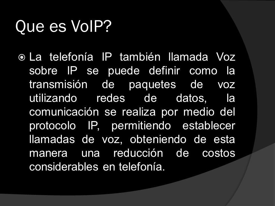 Que es VoIP