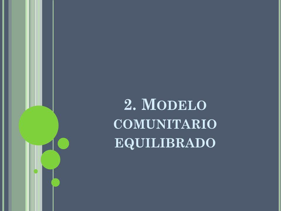 2. Modelo comunitario equilibrado