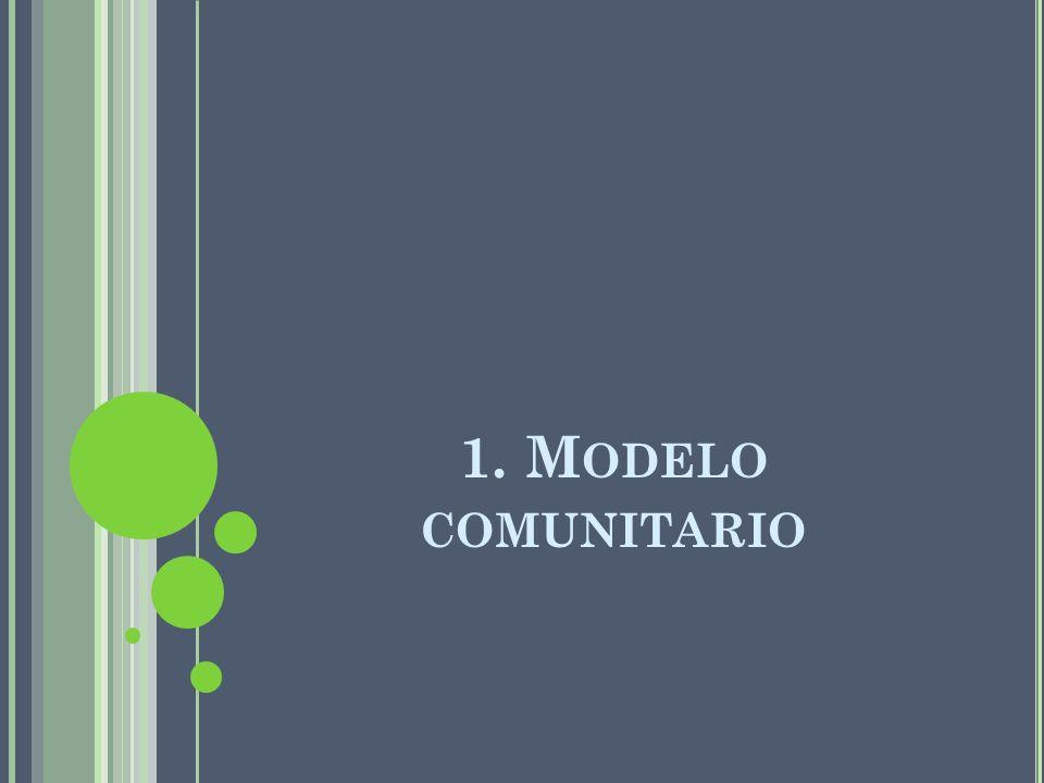 1. Modelo comunitario