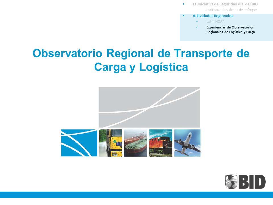 Observatorio Regional de Transporte de Carga y Logística