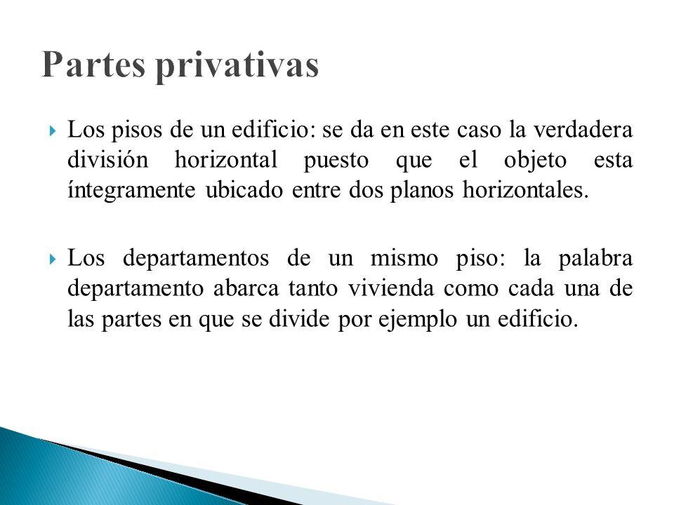 Partes privativas