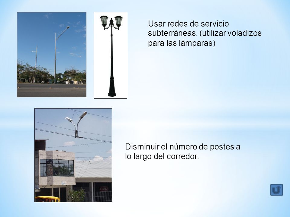 Usar redes de servicio subterráneas