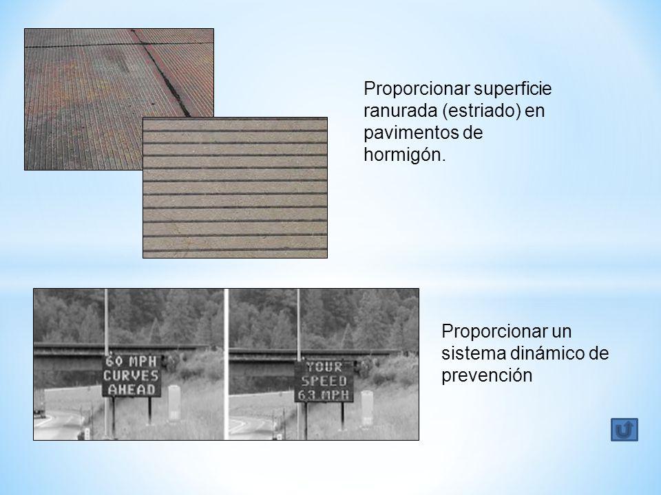 Proporcionar superficie ranurada (estriado) en pavimentos de hormigón.