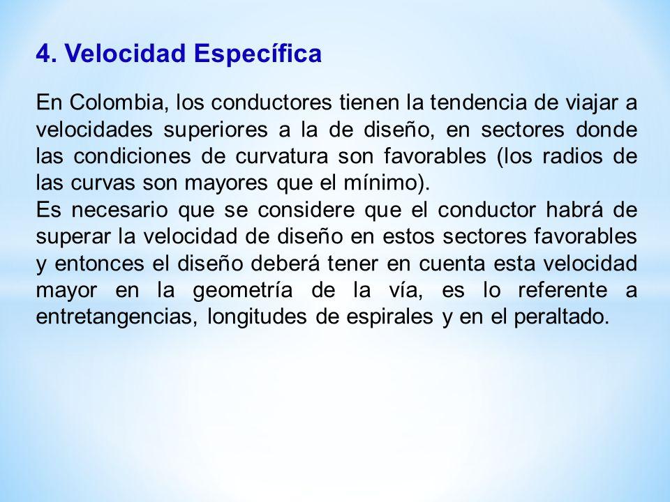 4. Velocidad Específica