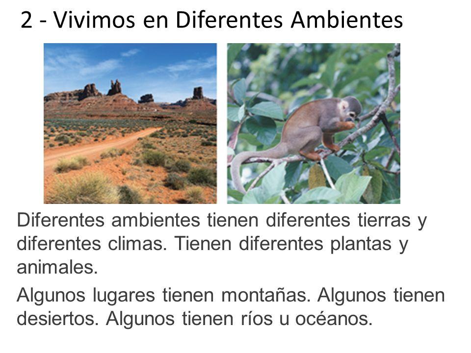 2 - Vivimos en Diferentes Ambientes