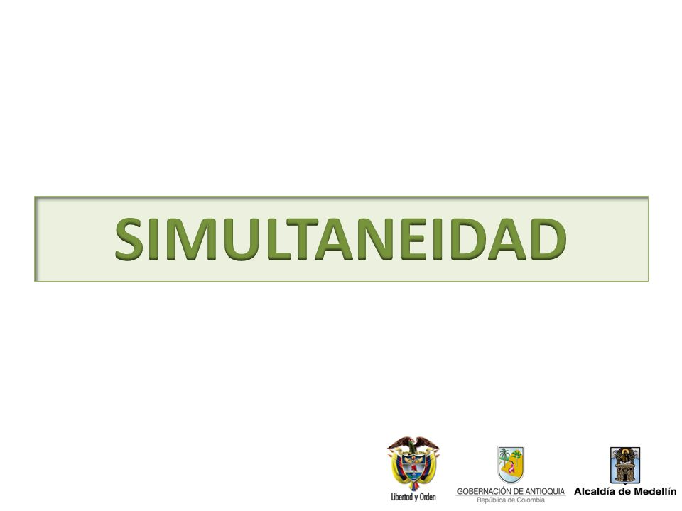 SIMULTANEIDAD