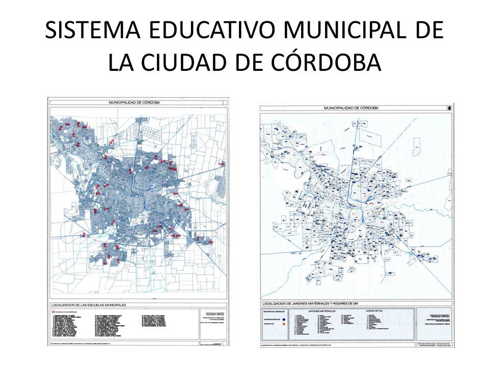 SISTEMA EDUCATIVO MUNICIPAL DE LA CIUDAD DE CÓRDOBA