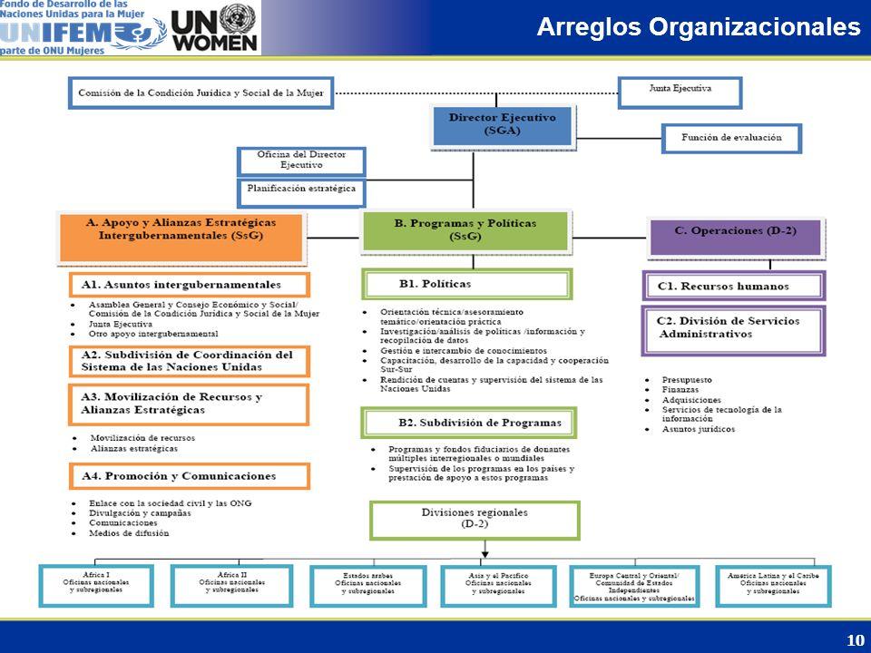 Arreglos Organizacionales