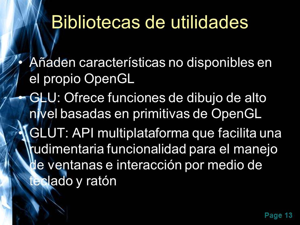 Bibliotecas de utilidades