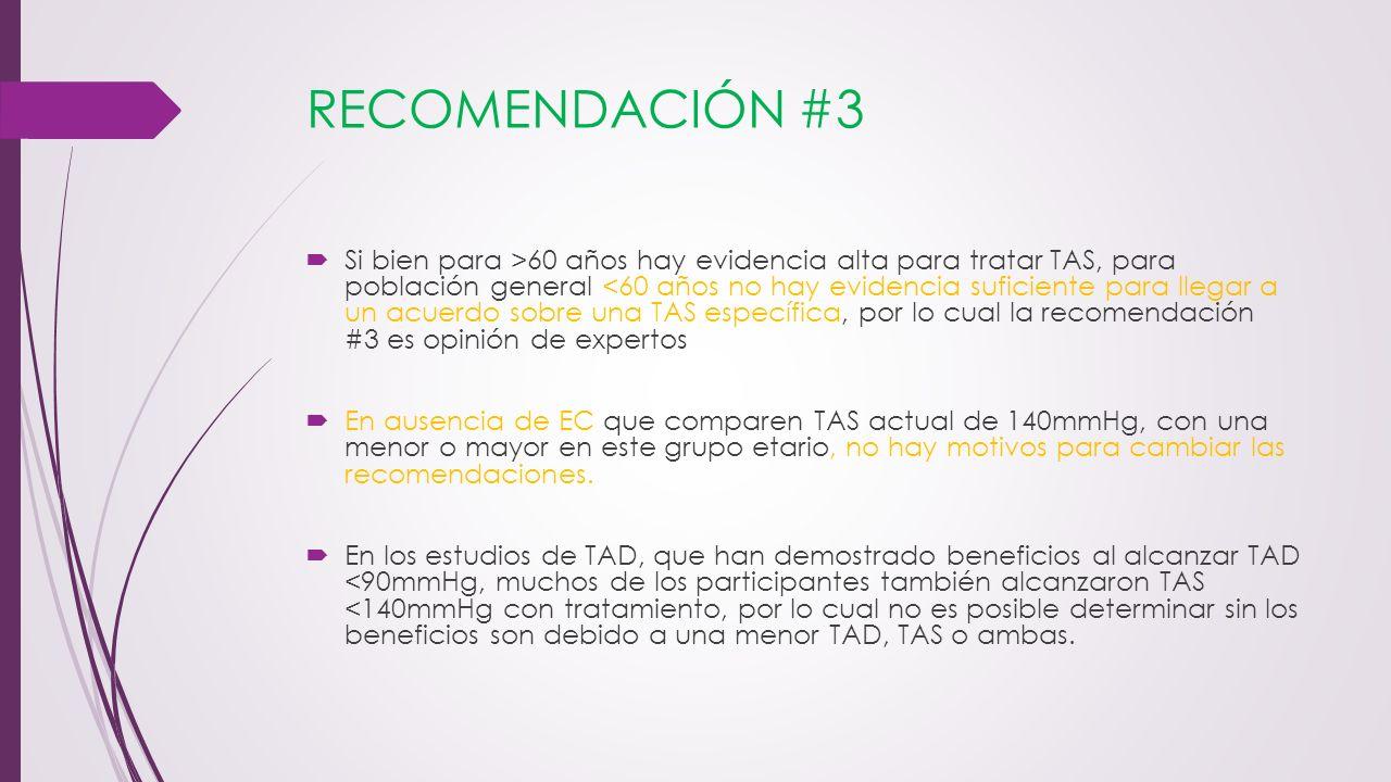 RECOMENDACIÓN #3