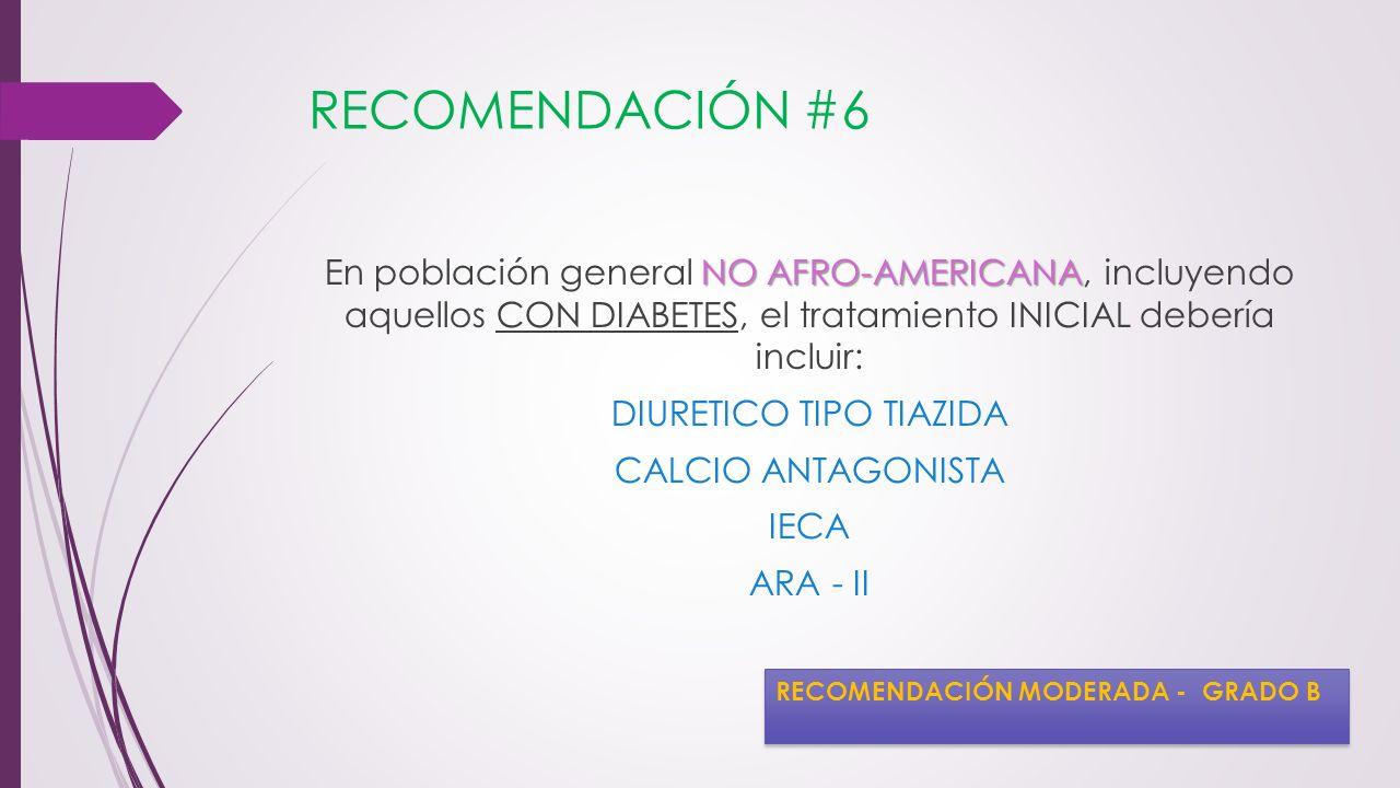 RECOMENDACIÓN #6