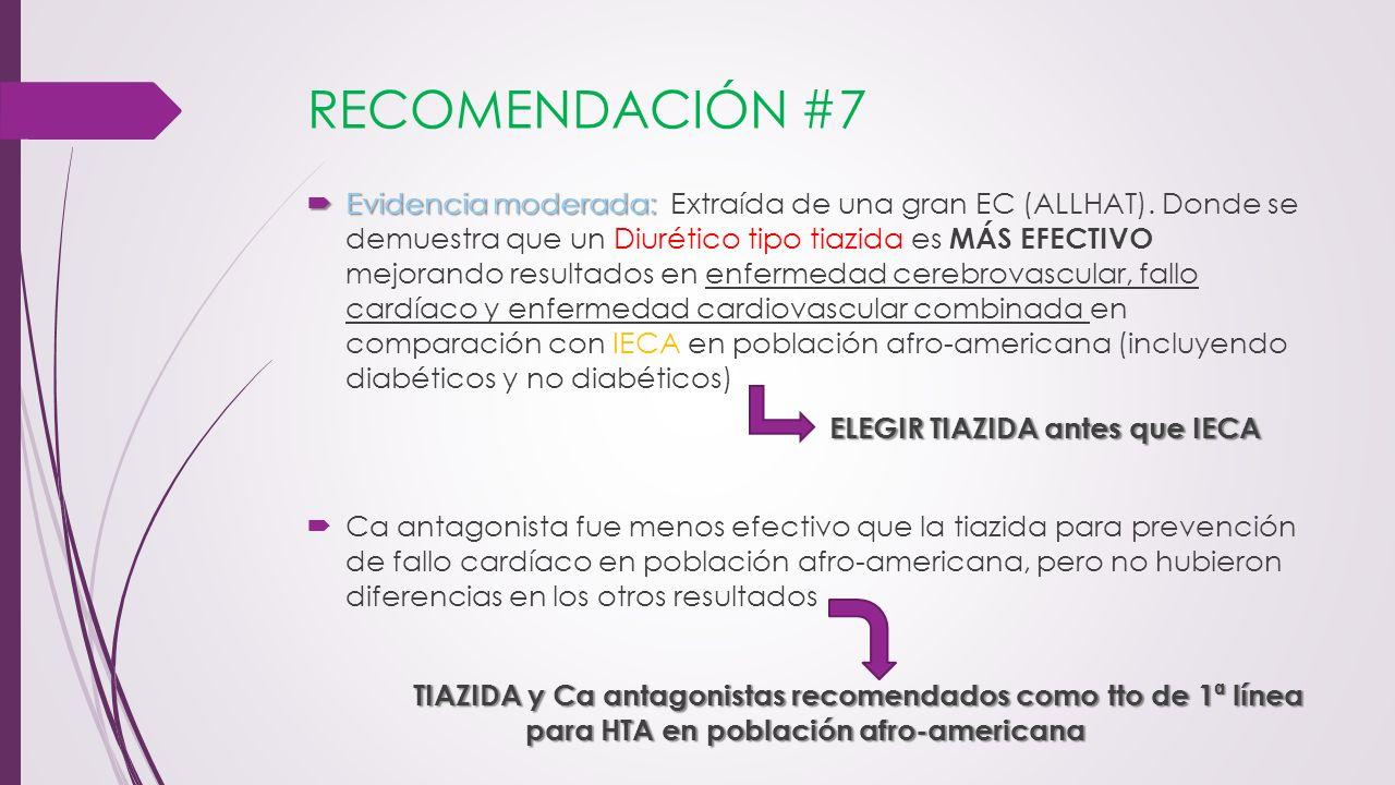 RECOMENDACIÓN #7