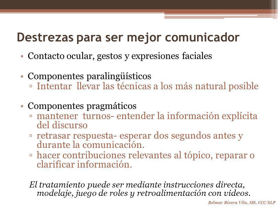 Destrezas para ser mejor comunicador