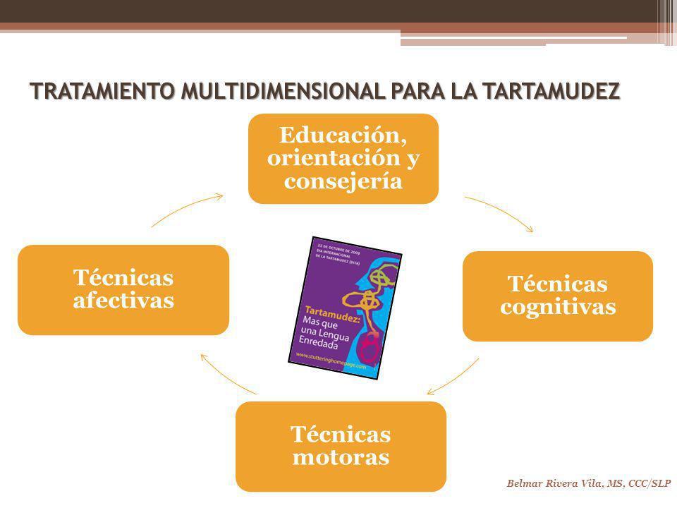 TRATAMIENTO MULTIDIMENSIONAL PARA LA TARTAMUDEZ