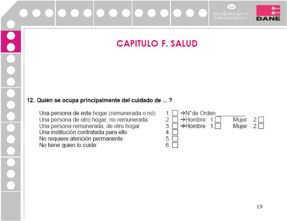 CAPITULO F. SALUD