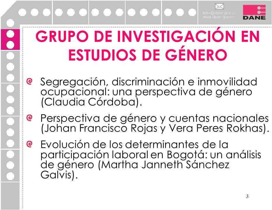 GRUPO DE INVESTIGACIÓN EN ESTUDIOS DE GÉNERO