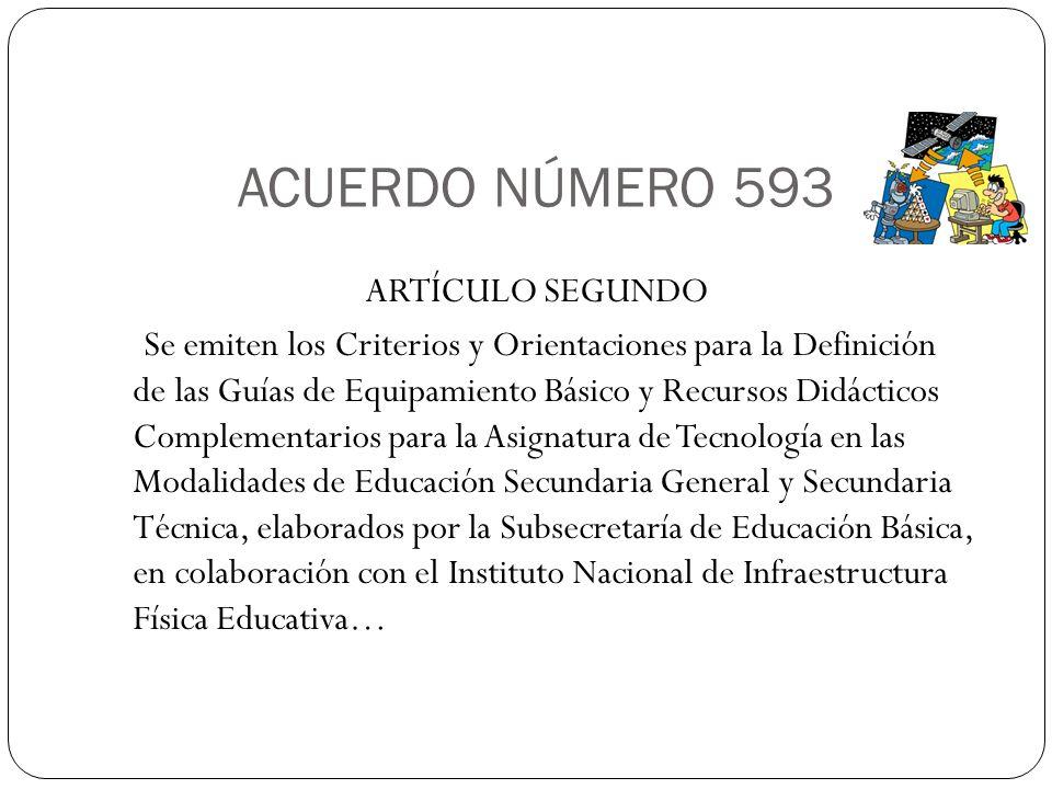 ACUERDO NÚMERO 593