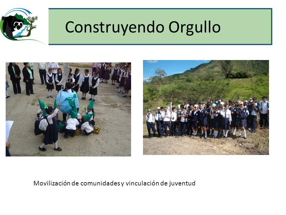 Construyendo Orgullo Eventos con ninos, joves… grupo de voluntarios.