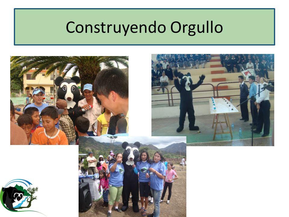 Construyendo Orgullo Eventos barriales en cuenca alta y baja, concursos, motivando a la gente y enesenadoles.