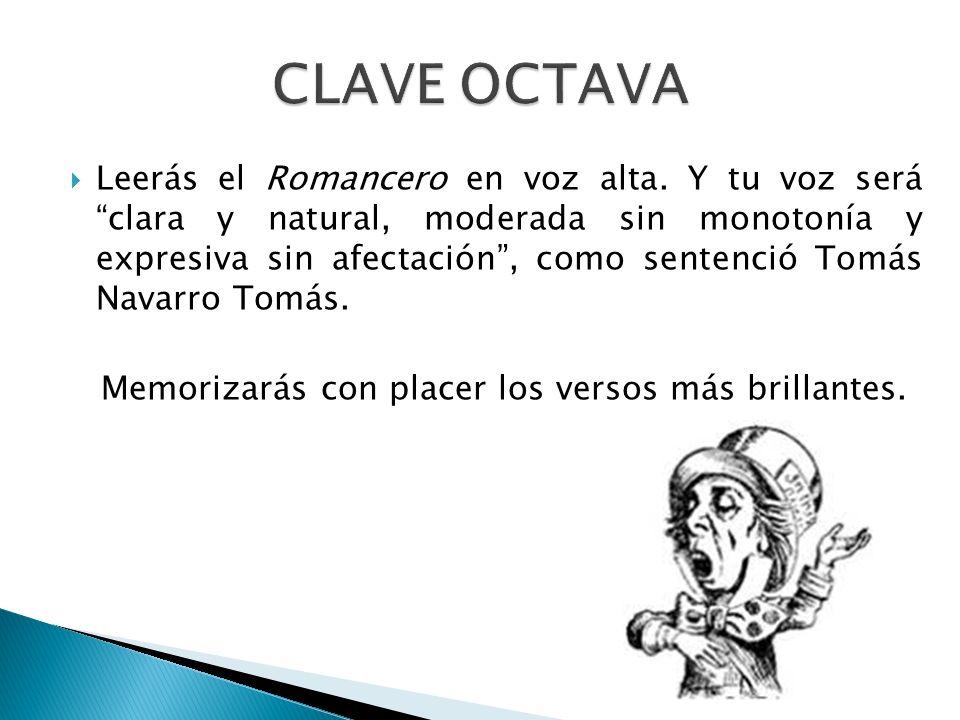 CLAVE OCTAVA