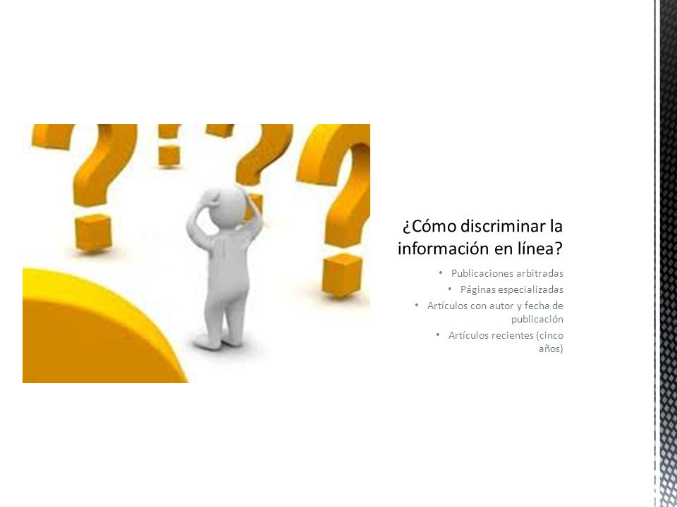 ¿Cómo discriminar la información en línea