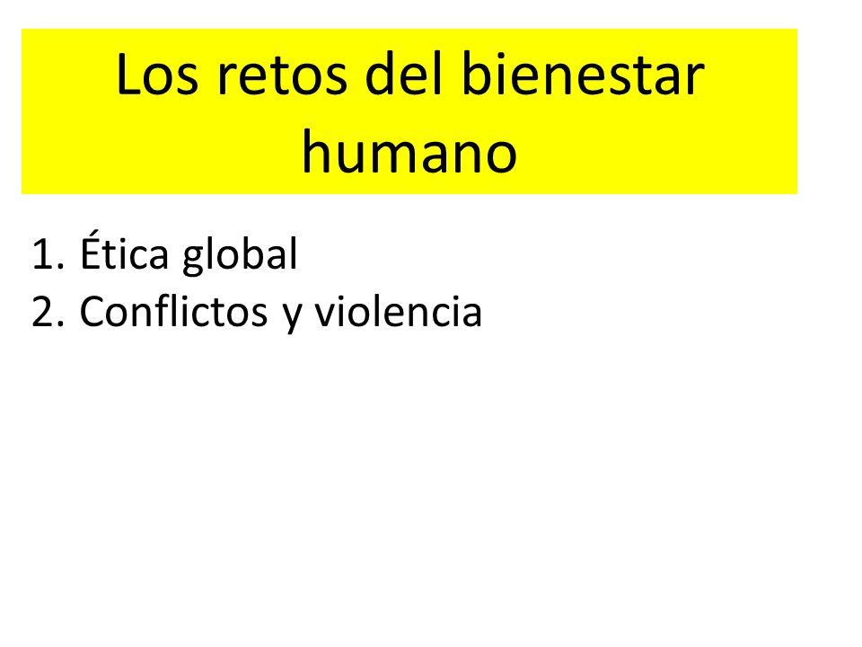 Los retos del bienestar humano