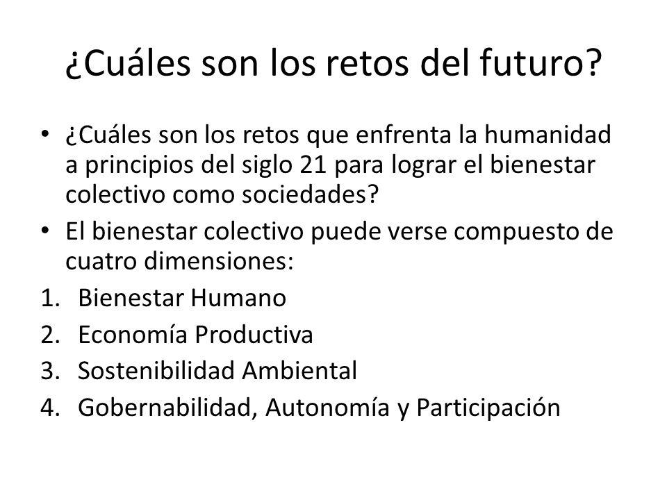 ¿Cuáles son los retos del futuro