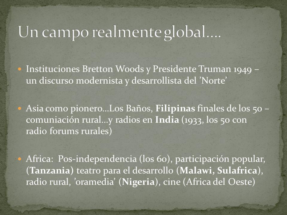 Un campo realmente global….