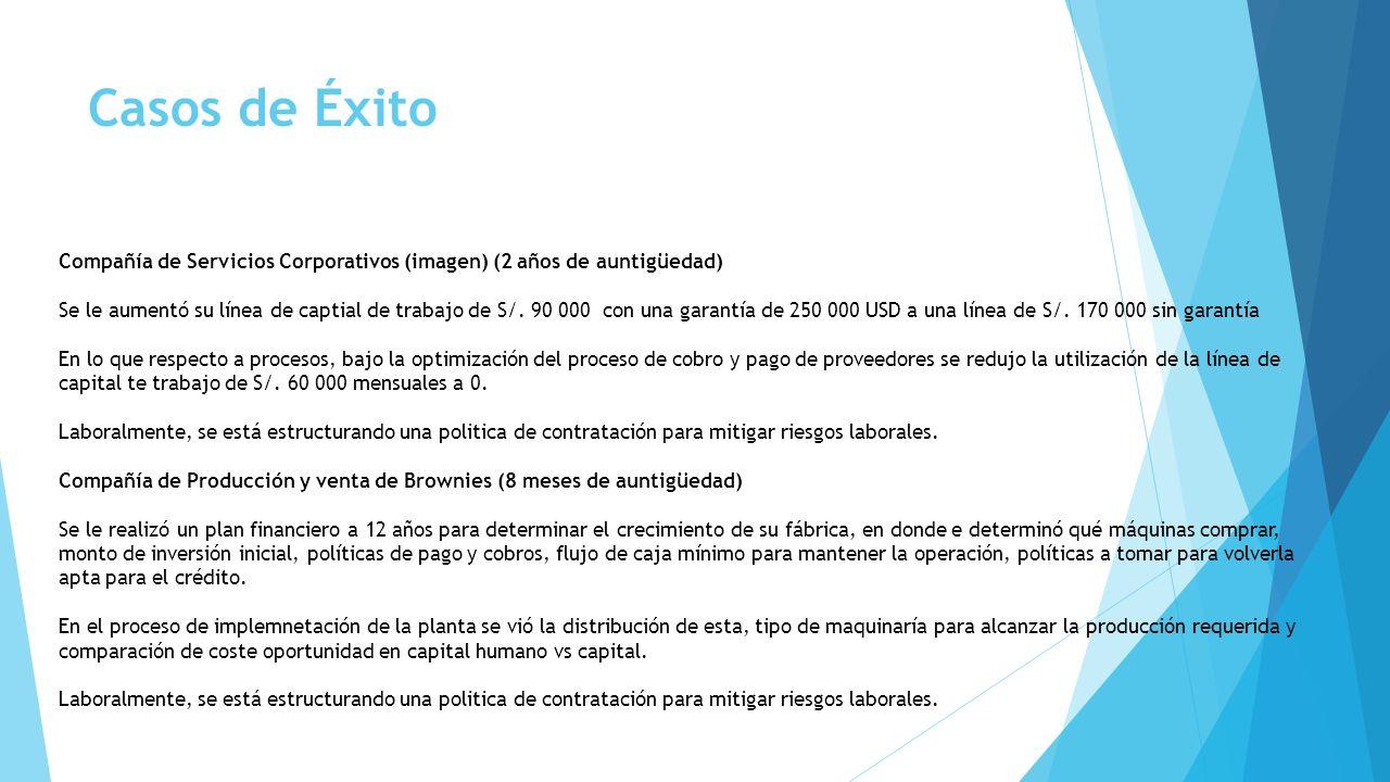 Casos de Éxito Compañía de Servicios Corporativos (imagen) (2 años de auntigüedad)