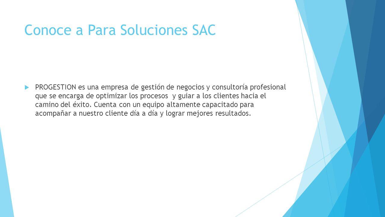 Conoce a Para Soluciones SAC