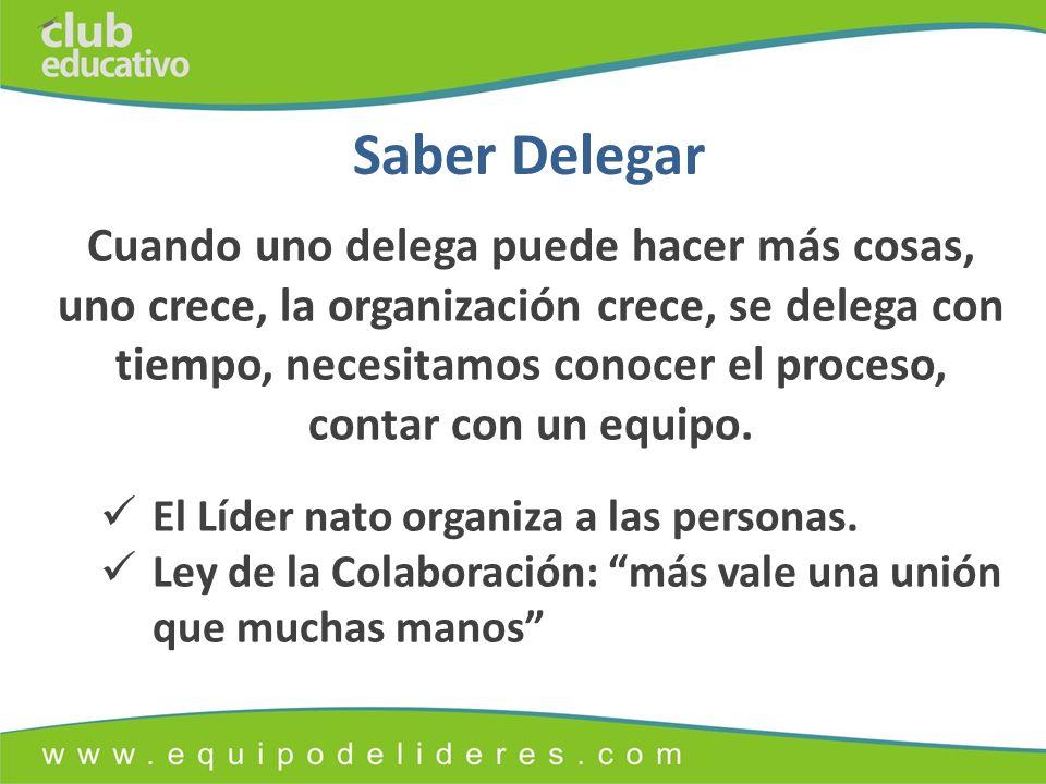 Saber Delegar