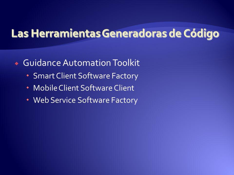 Las Herramientas Generadoras de Código