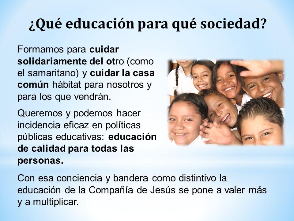 ¿Qué educación para qué sociedad