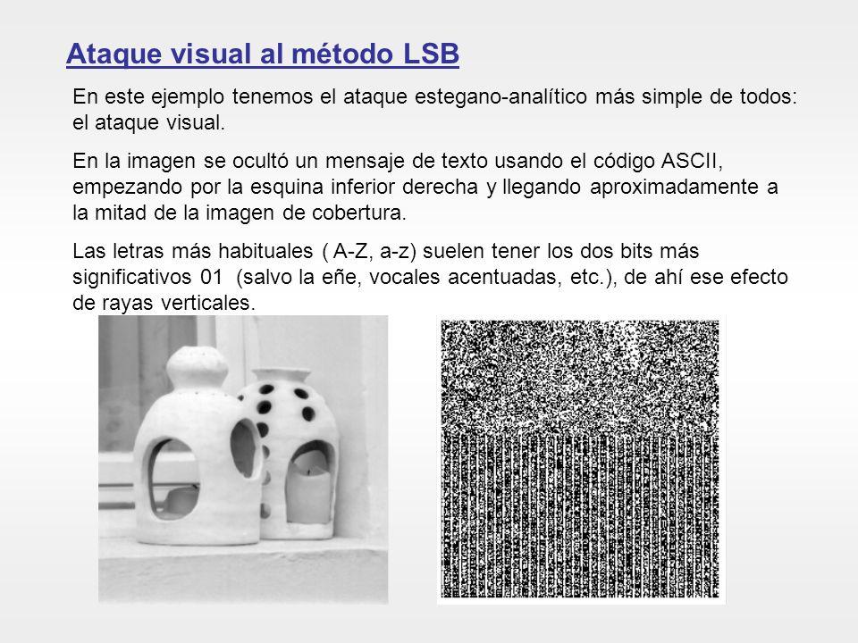 Ataque visual al método LSB