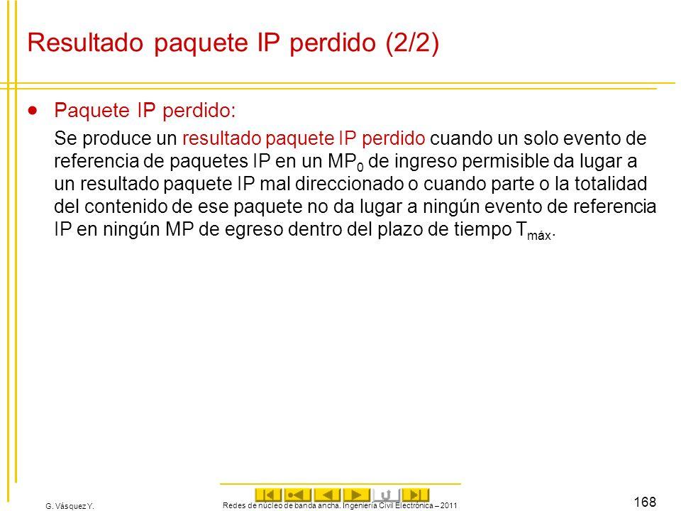 Resultado paquete IP perdido (2/2)