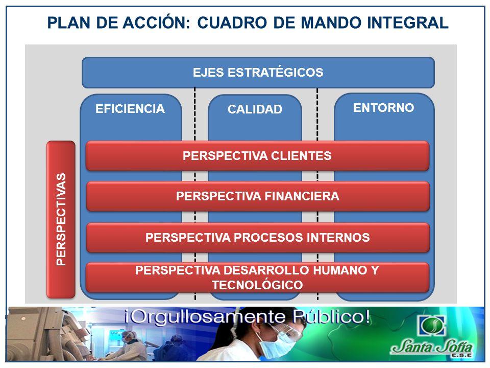 PLAN DE ACCIÓN: CUADRO DE MANDO INTEGRAL