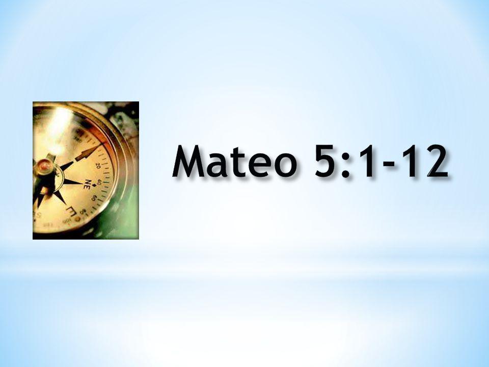 Mateo 5:1-12