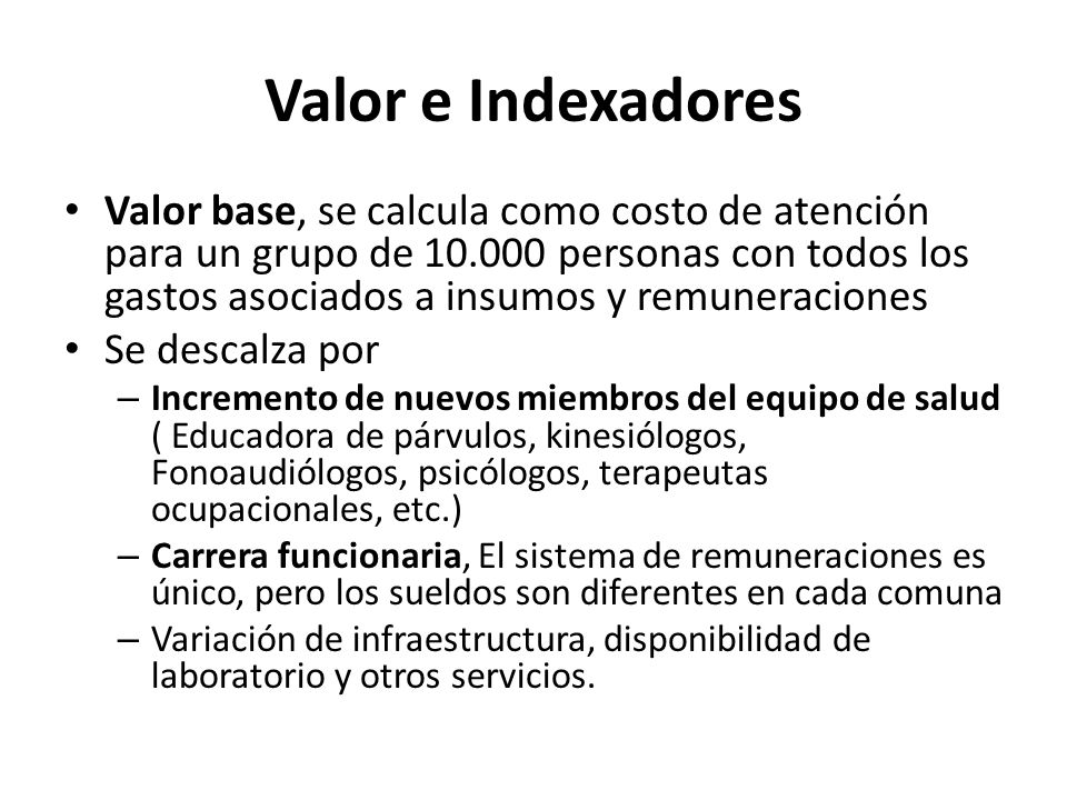 Valor e Indexadores