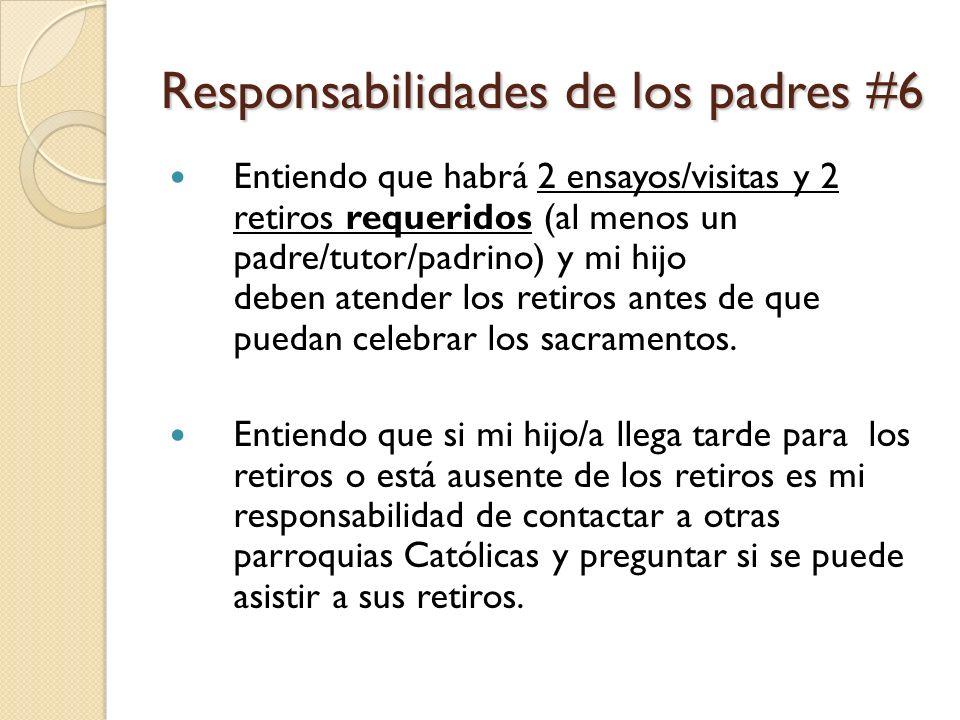 Responsabilidades de los padres #6