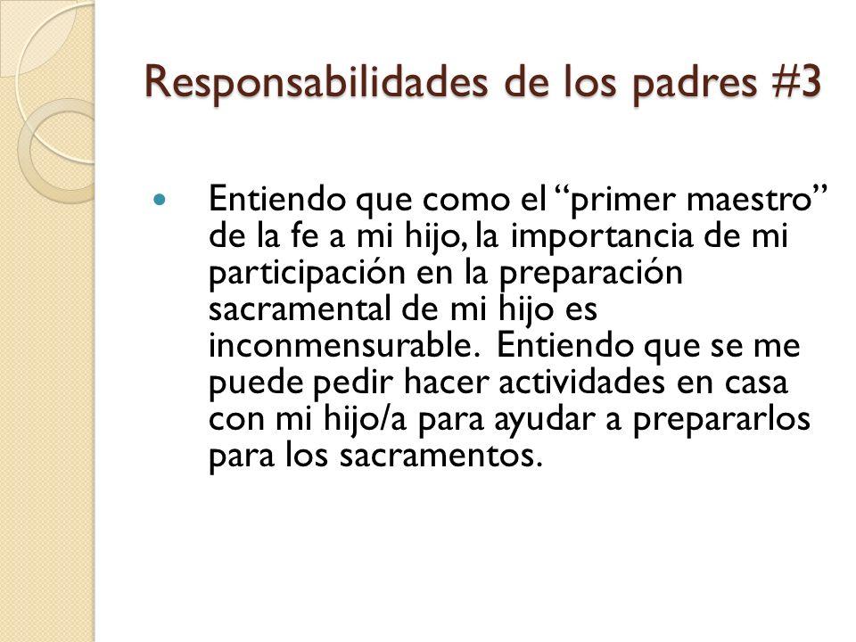 Responsabilidades de los padres #3