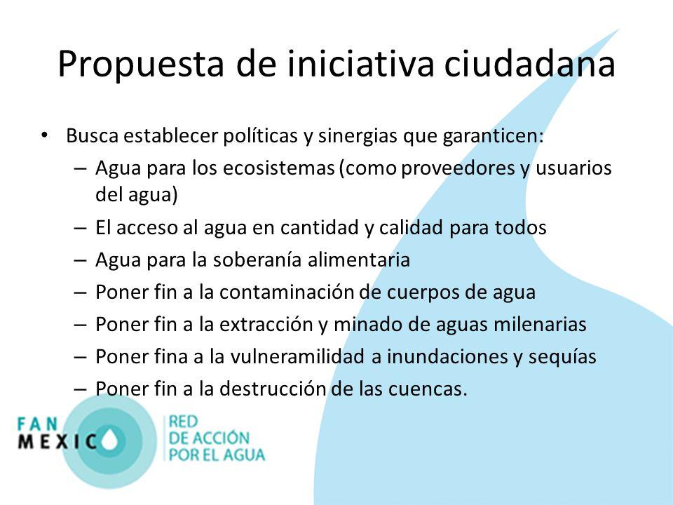 Propuesta de iniciativa ciudadana