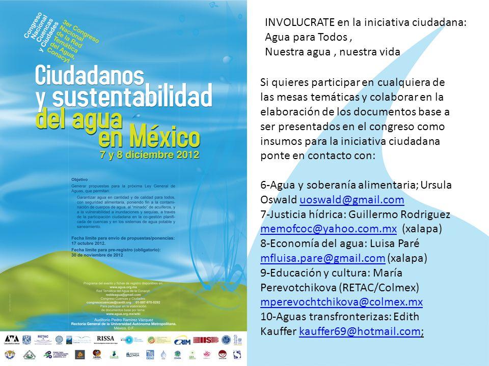 INVOLUCRATE en la iniciativa ciudadana: